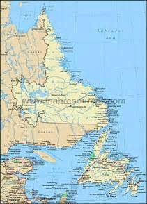 Labrador Canada Map by Newfoundland And Labrador Canada Map Dog Breeds Picture