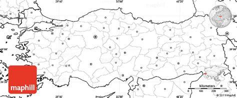 printable turkey map blank turkey maps