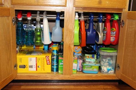 under the kitchen sink storage ideas 10 ideas to organize your kitchen in a snap blissfully