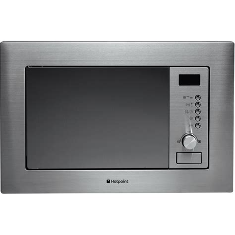 Microwave Ariston hotpoint newstyle mwh 122 1 x built in microwave stainless steel hotpoint uk