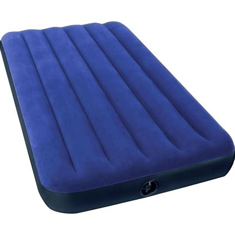 twin soft air classic downy airbed camping inflatable bed