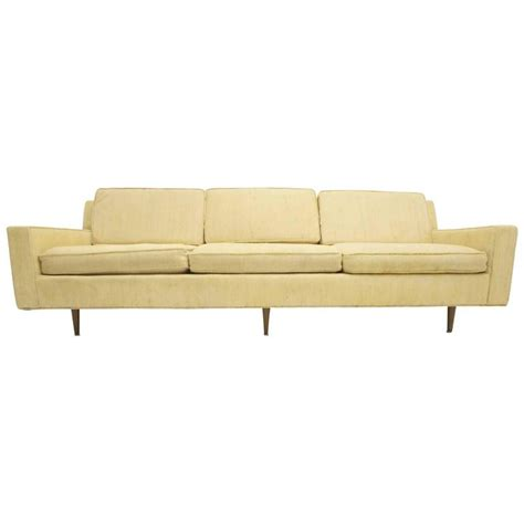 mid century modern sofa in the style of paul mccobb at 1stdibs