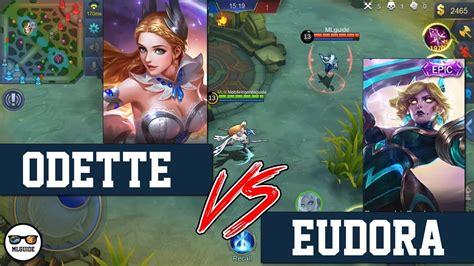 wallpaper mobile legend odette epicamazing odette vs eudora mobile legends