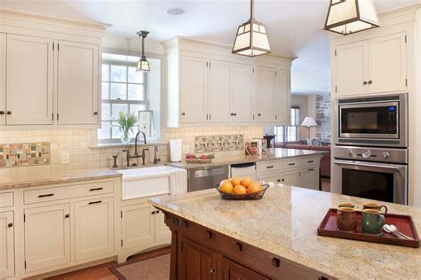 Kitchen Designs With White Cabinets Delorme Designs White Craftsman Style Kitchens