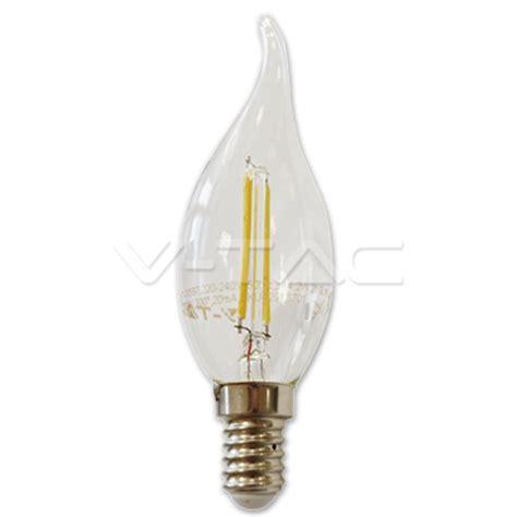 led e14 led e14 filament 2w 4w kerze flamme birne