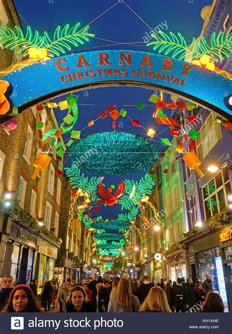 decorations christmas carnivals carnival theme christmas decorations in carnaby street in