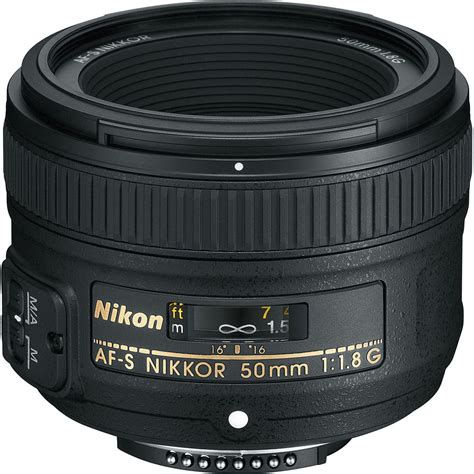 Lensa Nikon 50mm F 1 8 G nikon af s nikkor 50mm f 1 8g lens 2199 b h photo