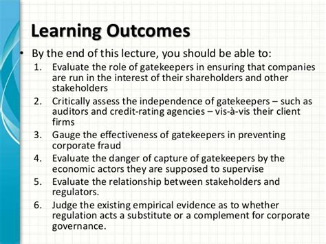 Cg Govt For Mba by Mba1034 Cg Ethics Week 7 Government Regulations
