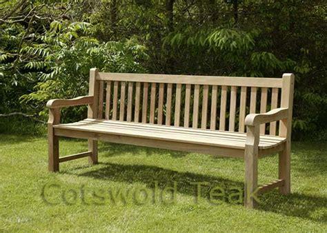 outdoor wooden memorial benches heavy duty back park bench 180cm 6ft