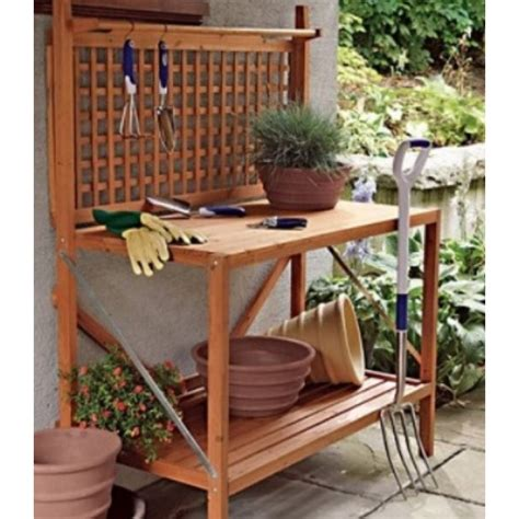 garden potting bench potting table with sink about potting table for