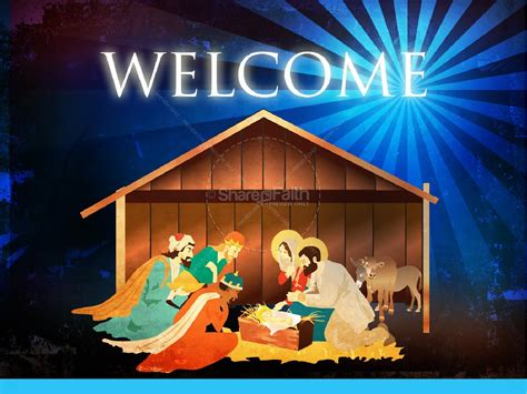 The Nativity Story Christmas Powerpoint Christmas Nativity Powerpoint