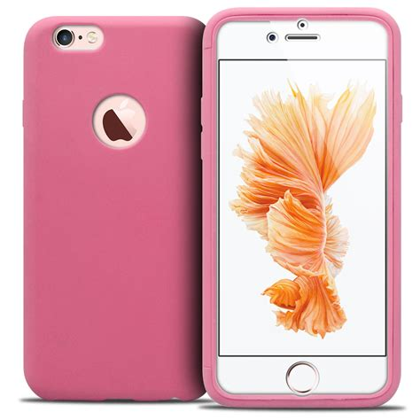 coque antichoc 360 ultimate touch gel apple iphone 6 6s