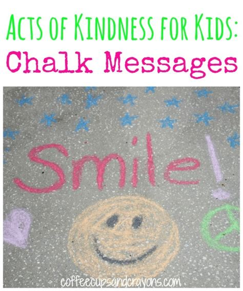 28 random acts of kindness 28 best images about sidewalk chalk kindness on pinterest