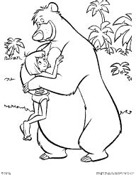 jungle book characters coloring pages top 93 jungle book coloring pages free coloring page
