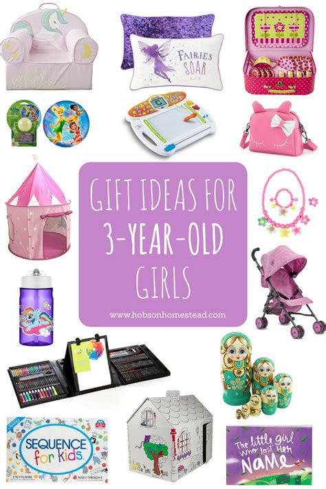 15 gift ideas for 3 year old girls hobson homestead