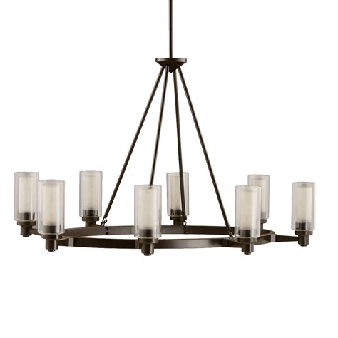 8 Light Chandelier In Olde Bronze Circolo Collection Kichler Lighting Company