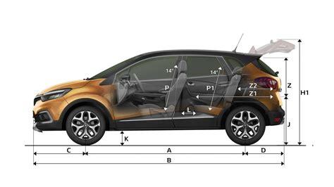 renault kangoo dimensions dimensions captur cars renault uk