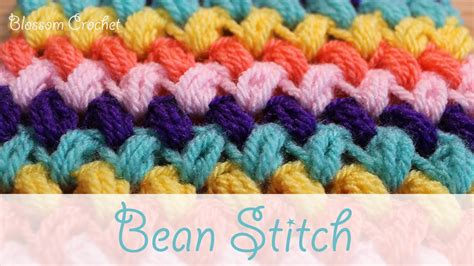 zig zag puff stitch pattern super easy crochet zig zag bean stitch puff stitch doovi