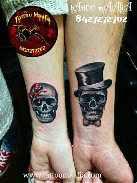 couple skeleton tattoo 60 tattoos to keep the forever alive