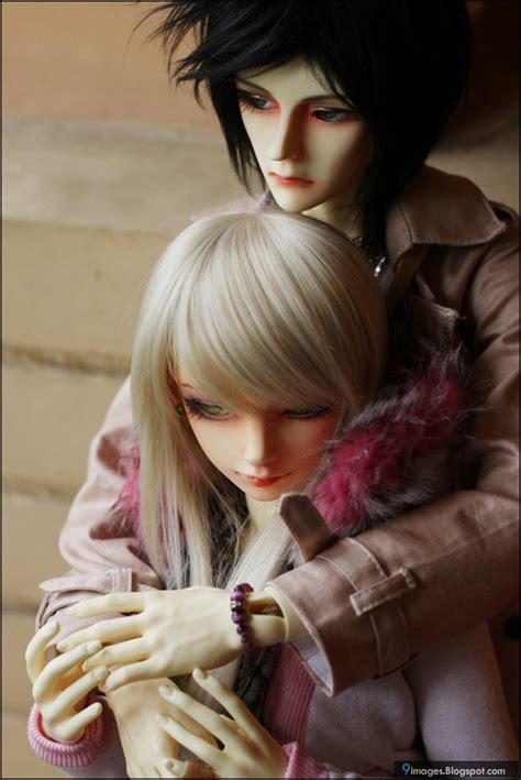 wallpaper cute doll couple doll couple hug sad cute beautiful