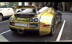 Golden Bugattis Golden Bugatti Veyron Grand Sport Revs 0 60mph Launch