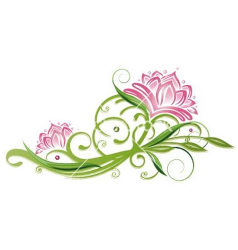 lotus flower vector 1734884 by christine krahl on