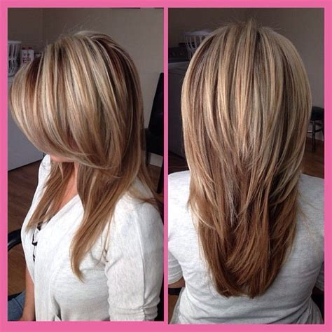ombre hair over 40 long haircut with side bangs and layers over 40 hairstyles
