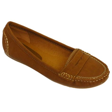 flat shoes size 5 flat slip on moccasin loafer comfort