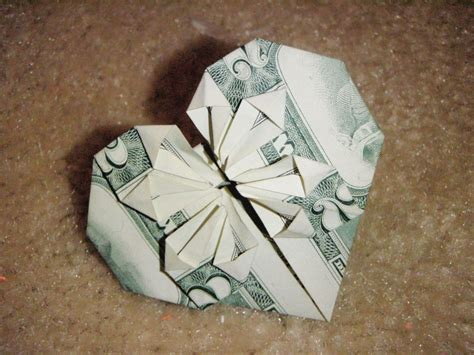 Easy Dollar Origami - dollar bill origami
