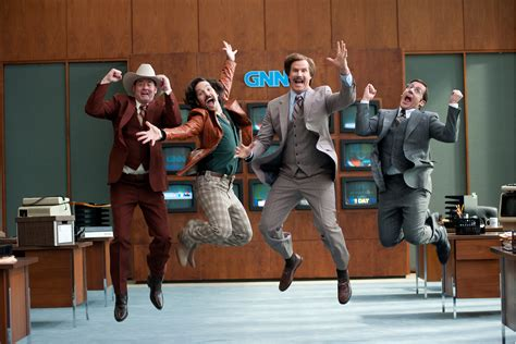 film up your anchor just how accurate is anchorman 2 new york post