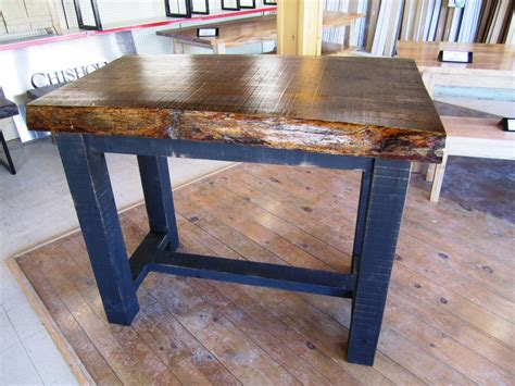 Live Edge Bar Table Furniture Chisholm Lumber