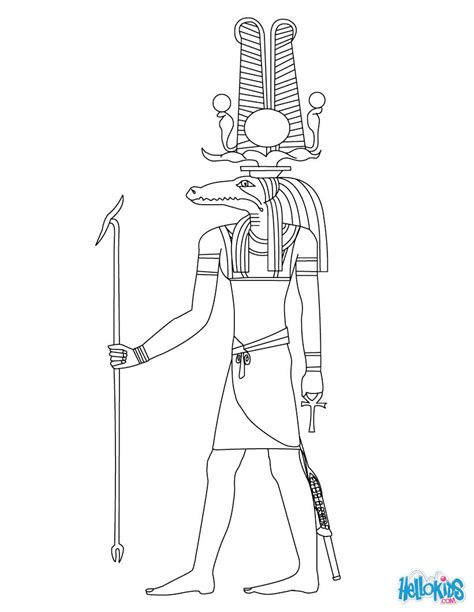 printable coloring pages egypt dover gods of ancient egypt coloring pesquisa google
