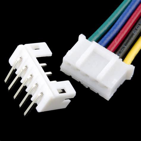 Kabel Socket Panjang 15cm 4 Pin jst connector set 5p 2mm m v 15cm kabel