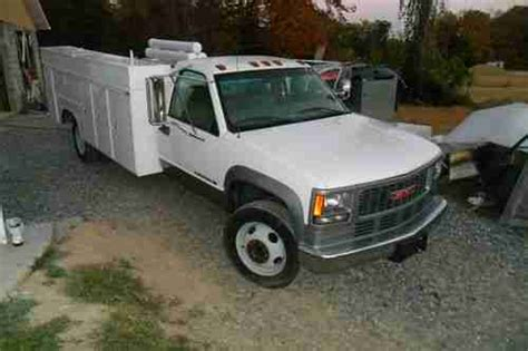 gmc 3500hd 1997 medium trucks buy used 1997 gmc 3500hd services utility truck in knoxville tennessee united states