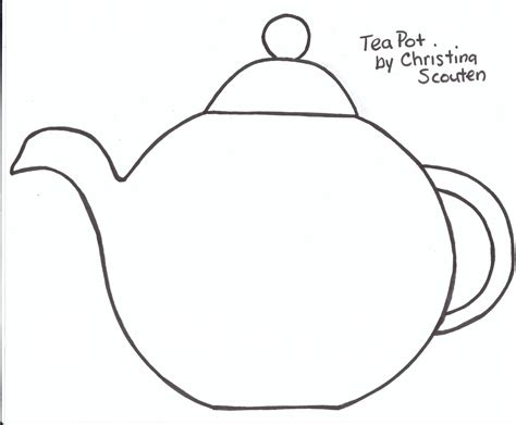 Teapot Card Template by Free Printable Tea Cup Templates Teapot Template Auf 4 Bp