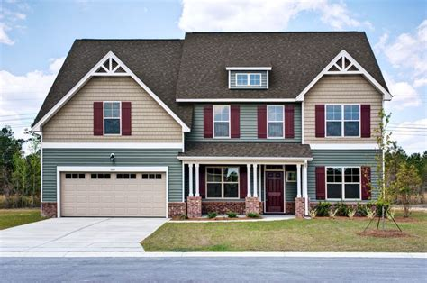 tan house colors grayson c exterior craftsman style home green and tan