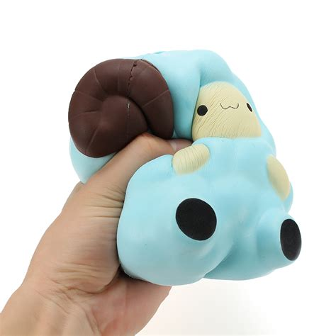 Squishy Jumbo Sheep squishy jumbo sheep 13cm rising with packaging