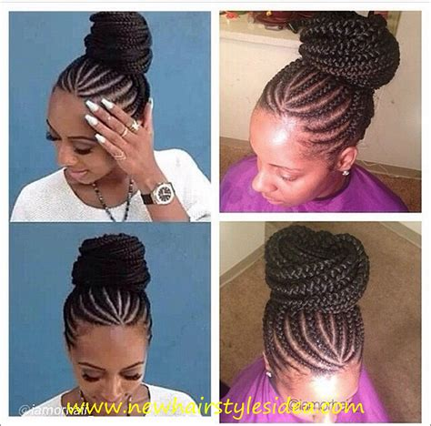 Simple Cornrow Hairstyles by Easy Cornrow Hairstyles Immodell Net