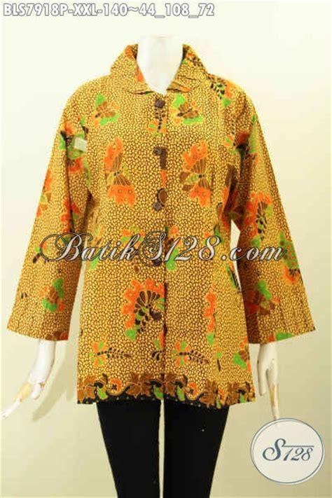 Model Baju Batik Ukuran Jumbo blouse batik wanita ukuran jumbo blouse batik wanita