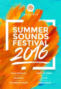 Adobe Photoshop Poster Templates by How To Create A Festival Poster Design In Photoshop