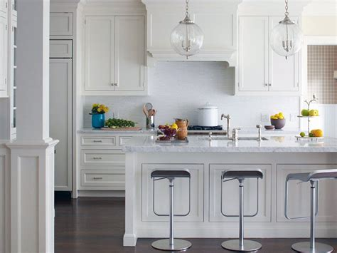 Small Kitchen With White Cabinets all white kitchen design ideas