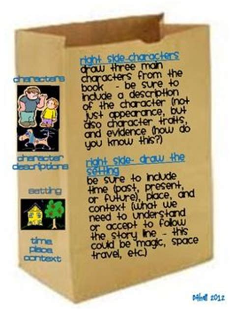 Brown Bag Book Report Grade by Pin By Pippa Dowling On Literacy