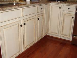 Faux Painted Kitchen Cabinets by Furniture