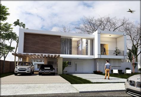 Modern Garage Designs free 3d models houses villas brazilian modern house