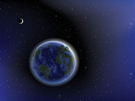 templates powerpoint earth the earth on the space powerpoint templates black blue