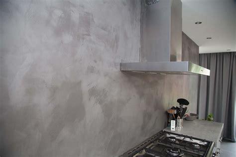 achterwand keuken spachtelputz naturelook achterwand keuken bergeijk