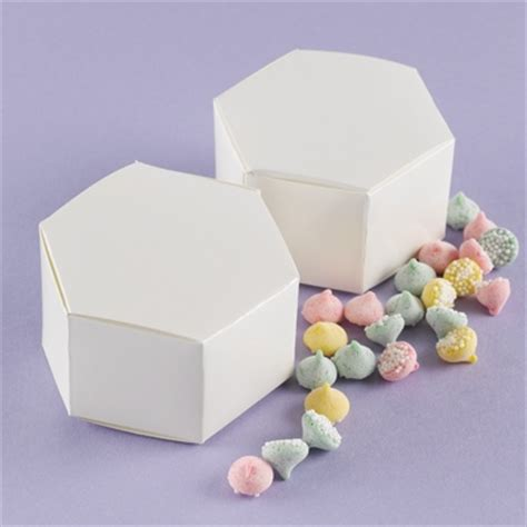 hexagon favor boxes ann s bridal bargains