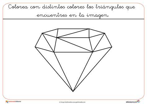formas geometricas con imagenes figuras geom 233 tricas para colorear