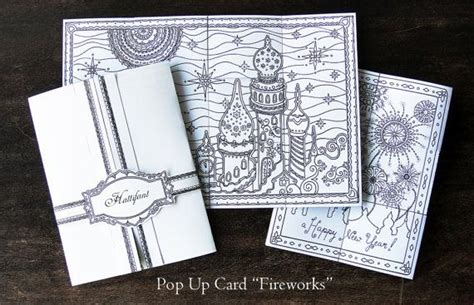 firework pop up card template 42 best hattifant shop images on