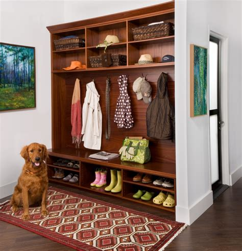 Armoire With Hanging Space Mud Room Traditional Hall New York By Transform